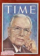 Time Vol. LXVIII No. 13 Magazine