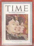 Time Vol. XL No. 25 Magazine