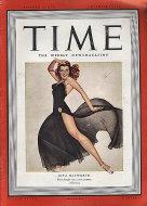 Time Vol. XXXVIII No. 19 Magazine