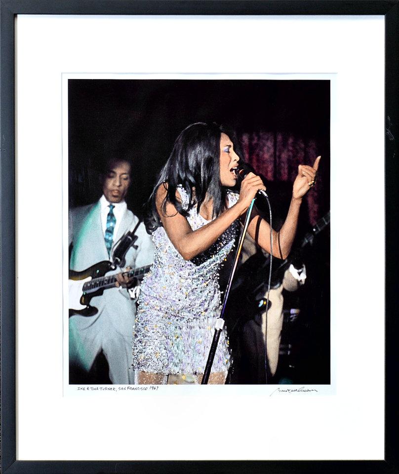 Tina Turner Framed Fine Art Print