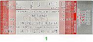 Tina Turner Vintage Ticket