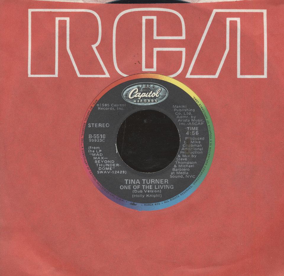 """Tina Turner Vinyl 7"""" (Used)"""