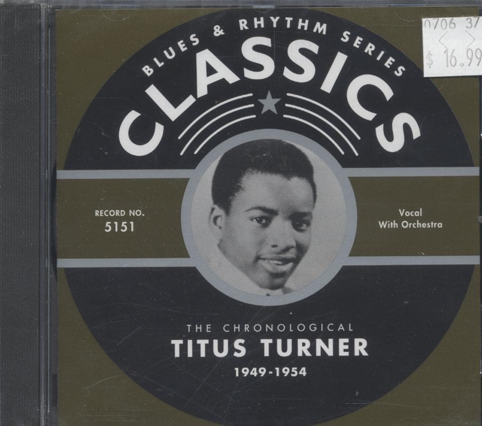 Titus Turner CD