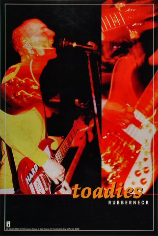 Toadies Poster