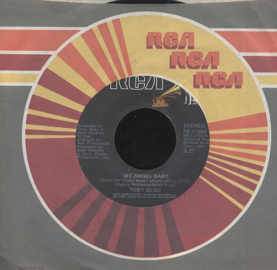 "Toby Beau Vinyl 7"" (Used)"