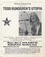 Todd Rundgren Handbill