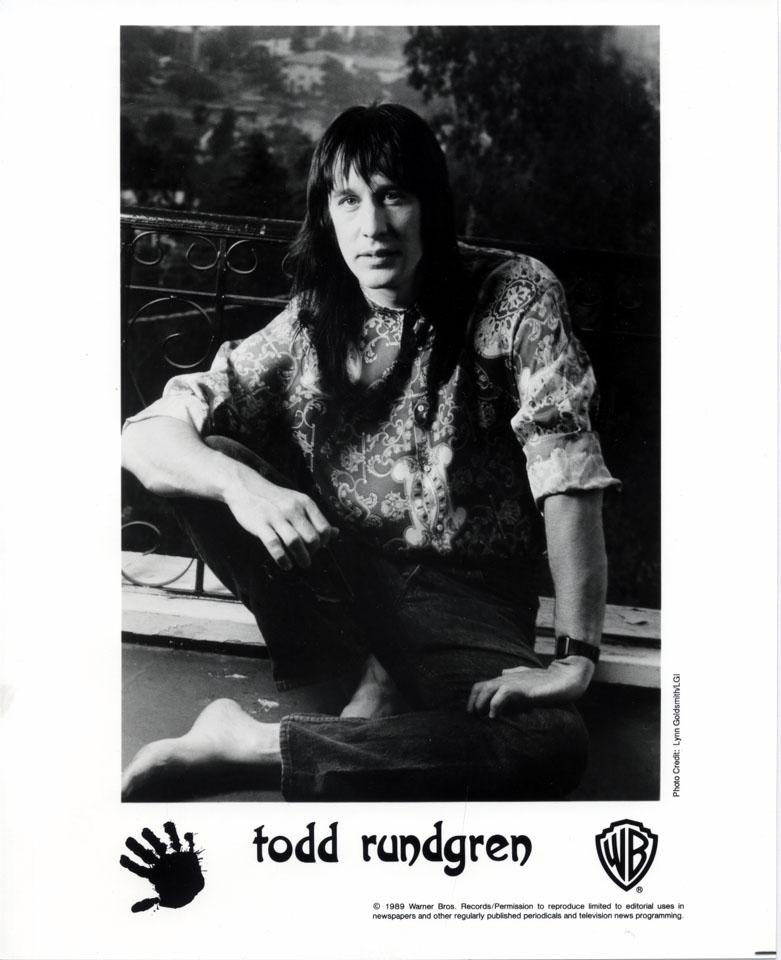 Todd Rundgren Promo Print