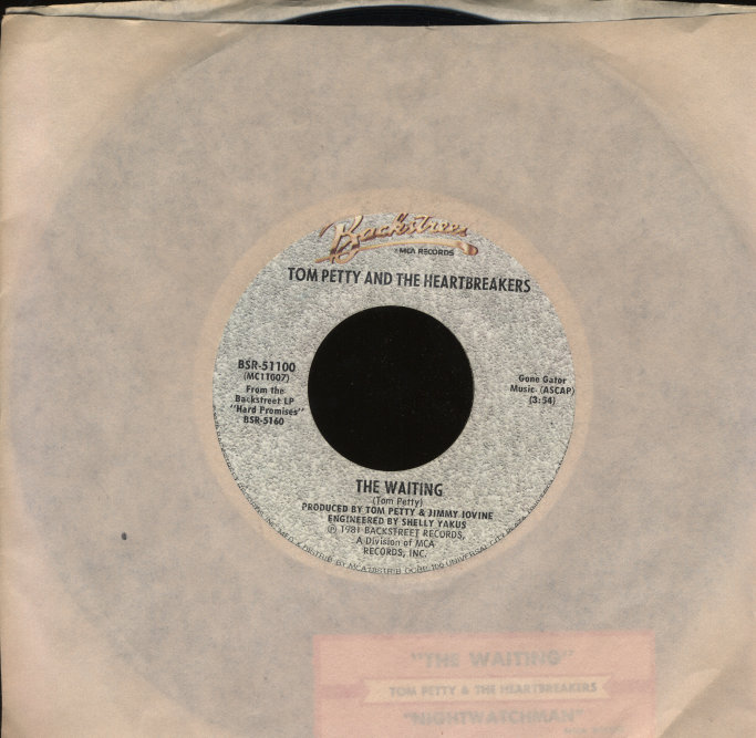 "Tom Petty & the Heartbreakers Vinyl 7"" (Used)"