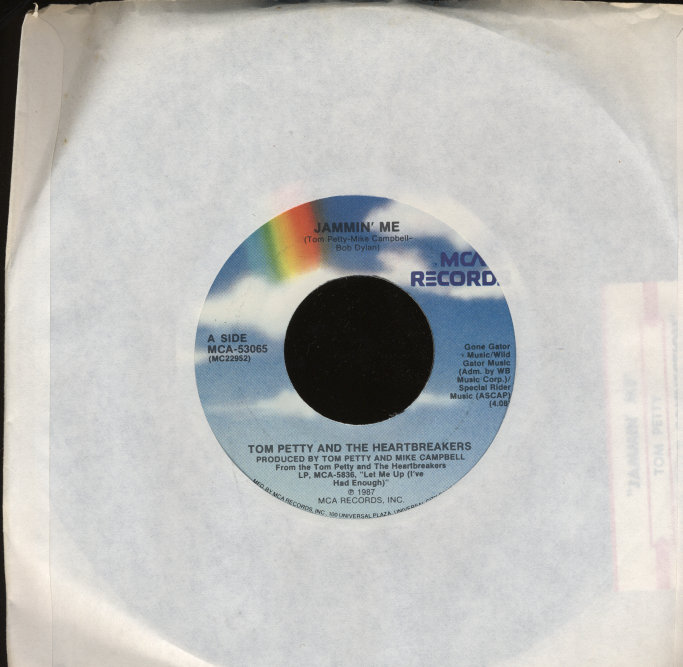 "Tom Petty & the Heartbreakers Vinyl 7"" (Used)"
