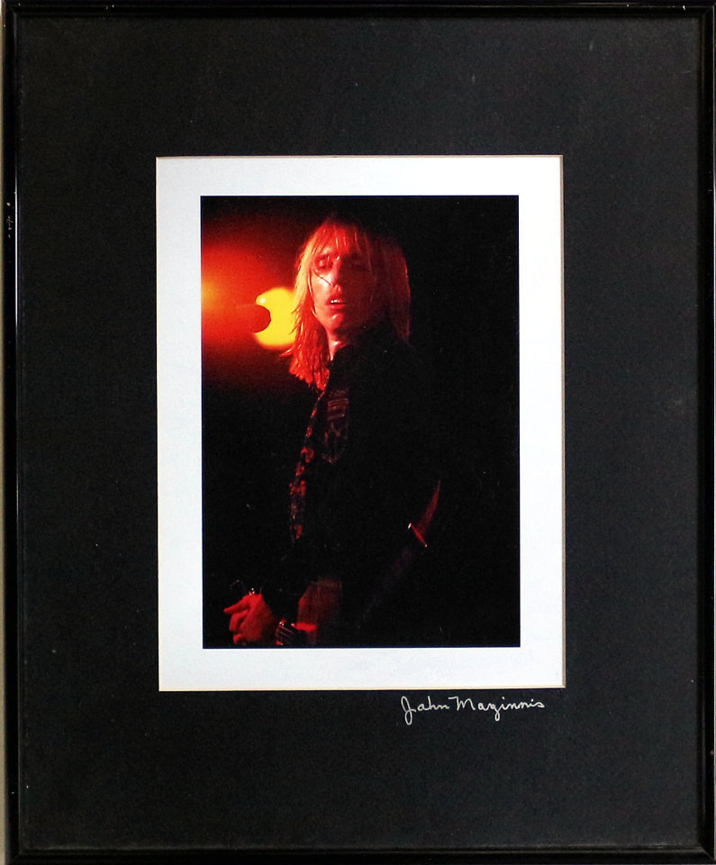 Tom Petty Framed Vintage Print
