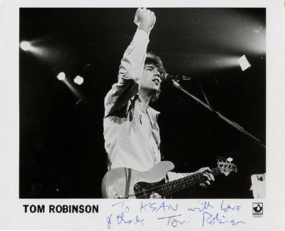 Tom Robinson Promo Print