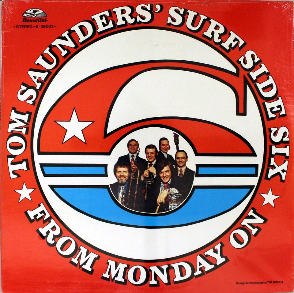 "Tom Saunders' Surf Side Six Vinyl 12"" (New)"