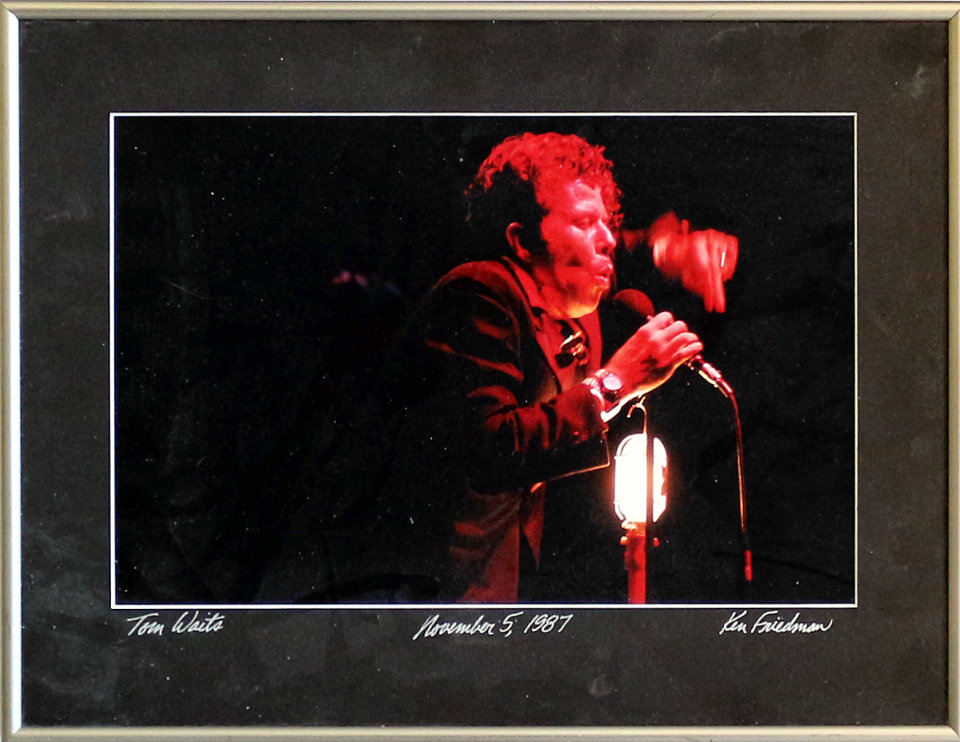 Tom Waits Framed Vintage Print