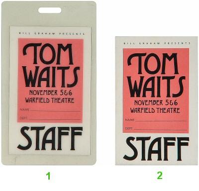 Tom Waits Laminate