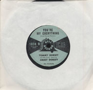 "Tommy Dorsey & His Orchestra Featuring Jimmy Dorsey Vinyl 7"" (Used)"