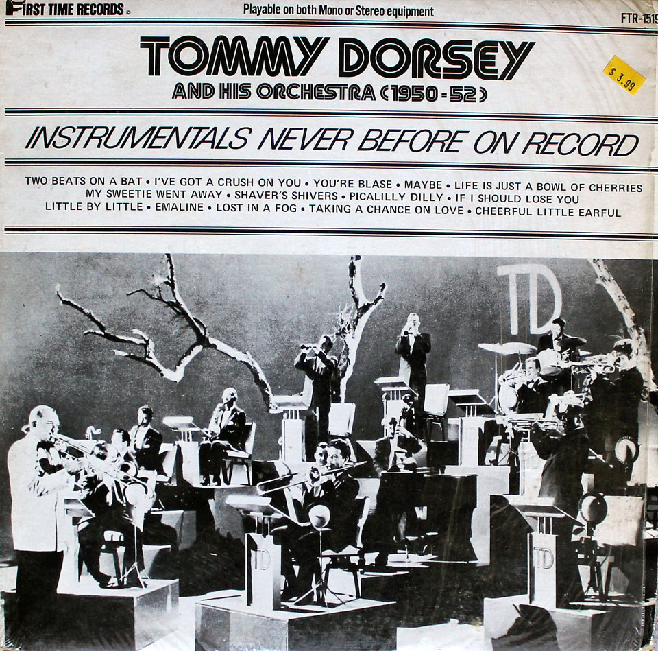 """Tommy Dorsey & His Orchestra Vinyl 12"""" (New)"""