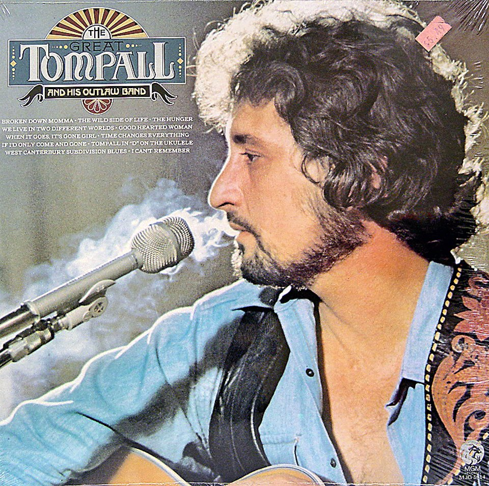 """Tompall Glasser and His Outlaw Band Vinyl 12"""" (New)"""
