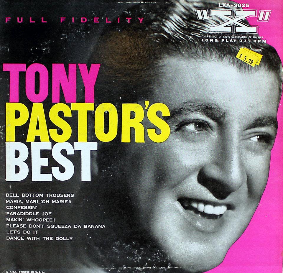 "Tony Pastor Vinyl 10"" (Used)"