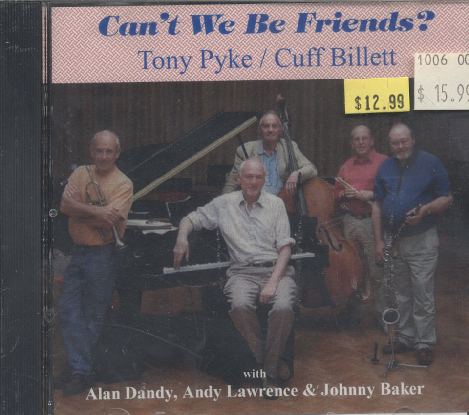 Tony Pyke / Cuff Billett CD