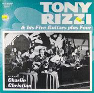 """Tony Rizzi & His Five Guitars Plus Four Vinyl 12"""" (Used)"""