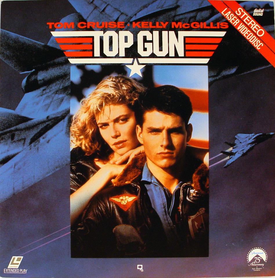Top Gun Laserdisc