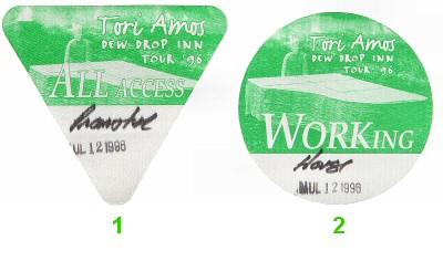 Tori Amos Backstage Pass