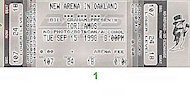 Tori Amos Vintage Ticket