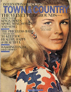 Town & Country Magazine July 1969 Magazine