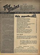 Toy Trains Vol. 2 No. 10 Magazine