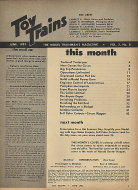 Toy Trains Vol. 2 No. 8 Magazine