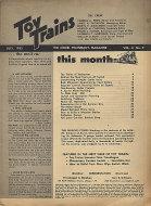 Toy Trains Vol. 2 No. 9 Magazine