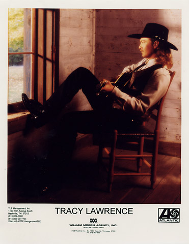 Tracy Lawrence Promo Print