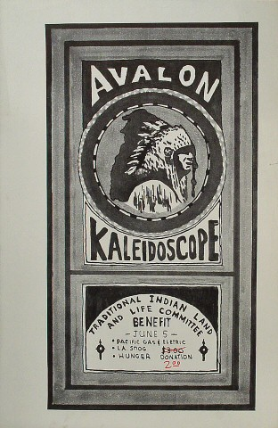 Traditional Indian Land and Life Committee Benefit Poster
