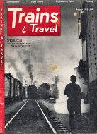 Trains & Travel Magazine August 1952 Magazine