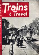 Trains & Travel Magazine November 1951 Magazine