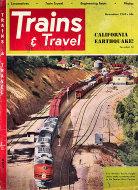 Trains & Travel Magazine November 1952 Magazine