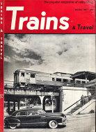 Trains & Travel Magazine October 1951 Magazine