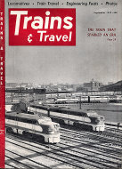 Trains & Travel Magazine September 1952 Magazine