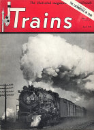 Trains Magazine April 1950 Magazine