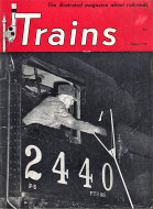 Trains Magazine August 1949 Magazine