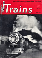 Trains Magazine August 1950 Magazine