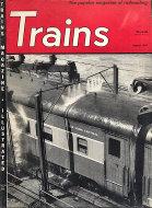 Trains Magazine August 1951 Magazine