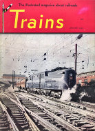 Trains Magazine January 1948 Magazine