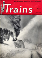 Trains Magazine January 1950 Magazine