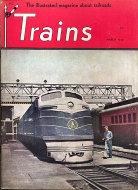 Trains Magazine March 1948 Magazine