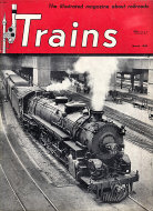 Trains Magazine March 1950 Magazine
