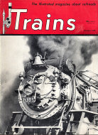 Trains Magazine October 1950 Magazine