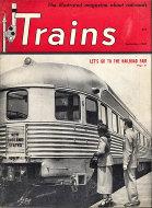 Trains Magazine September 1949 Magazine