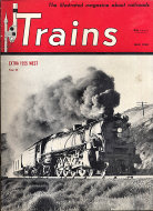 Trains  May 1,1950 Magazine