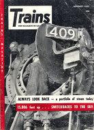 Trains Vol. 15 No. 3 Magazine